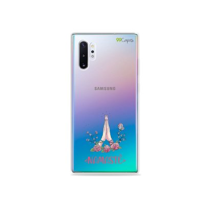 Capinha (transparente) para Galaxy Note 10 Plus - Namastê