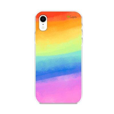 Capinha para iPhone XR - Rainbow