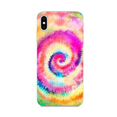 Capinha para iPhone XS Max - Tie Dye