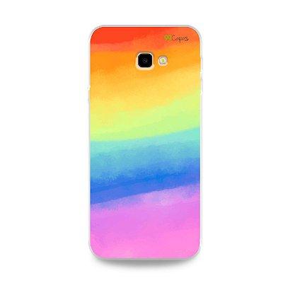 Capinha para Galaxy J4 Plus - Rainbow