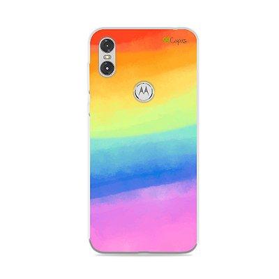 Capinha para Moto One - Rainbow