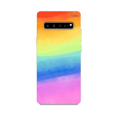 Capinha para Galaxy S10 - Rainbow