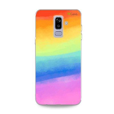 Capinha para Galaxy J8 - Rainbow