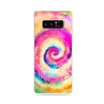 Capa para Galaxy Note 8 - Tie Dye