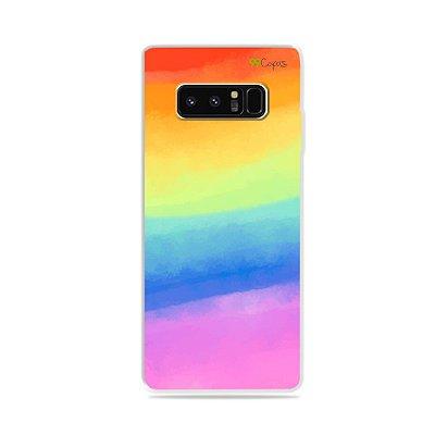 Capa para Galaxy Note 8 - Rainbow