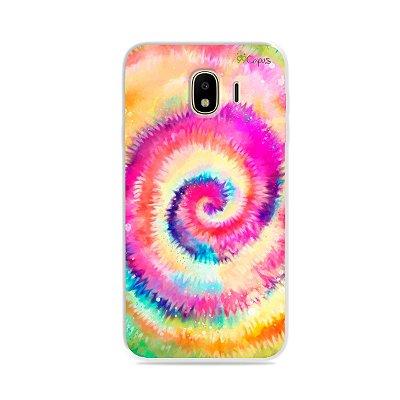 Capa para Galaxy J4 - Tie Dye