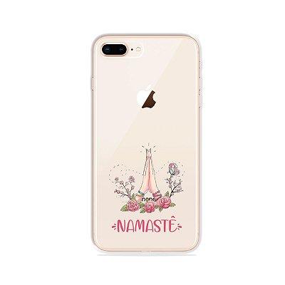 Capinha (transparente) para iPhone 7 Plus - Namastê