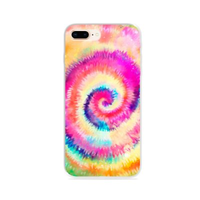 Capa para iPhone 8 Plus - Tie Dye