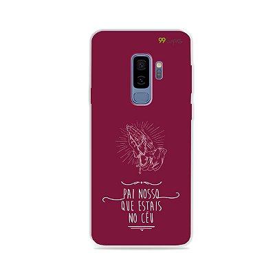 Capinha para Galaxy S9 Plus - Pai Nosso