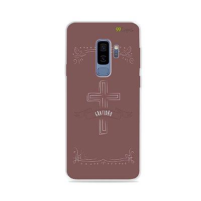 Capinha para Galaxy S9 Plus - Gratidão