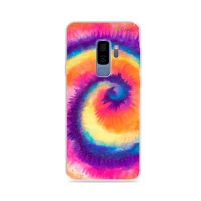 Capinha para Galaxy S9 Plus - Tie Dye Roxo