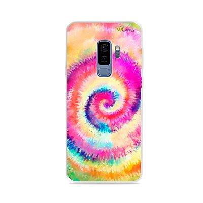 Capinha para Galaxy S9 Plus - Tie Dye
