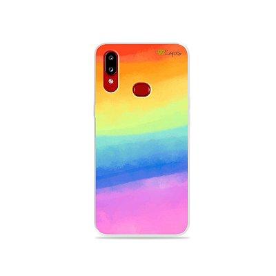 Capinha para Galaxy A10s - Rainbow