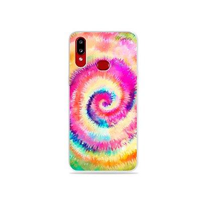 Capinha para Galaxy A10s - Tie Dye