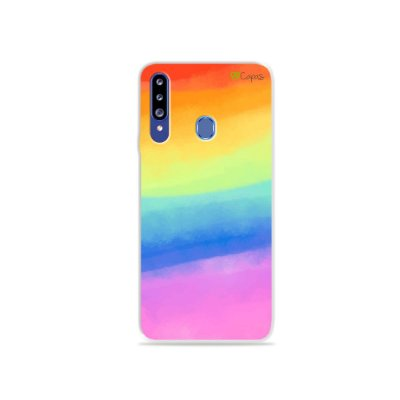 Capinha para Galaxy A20s - Rainbow