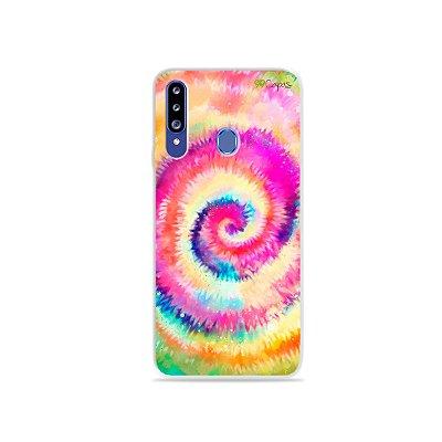 Capinha para Galaxy A20s - Tie Dye
