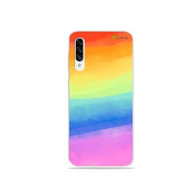 Capinha para Galaxy A30s - Rainbow
