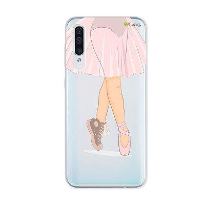 Capinha (transparente) para Galaxy A50s - Ballet