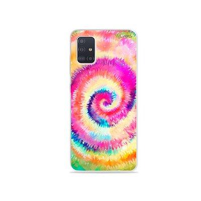 Capinha para Galaxy A51 - Tie Dye