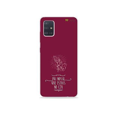 Capinha para Galaxy A51 - Pai Nosso