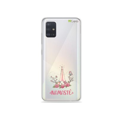 Capinha (transparente) para Galaxy A51 - Namastê