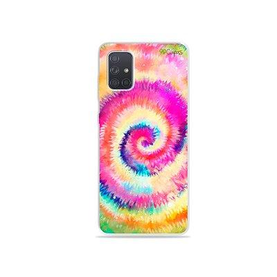 Capinha para Galaxy A71 - Tie Dye