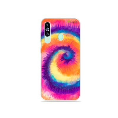 Capinha para Galaxy M40 - Tie Dye Roxo