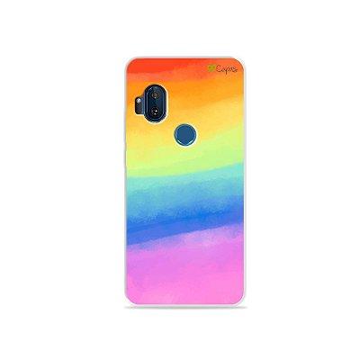 Capinha para Moto One Hyper - Rainbow