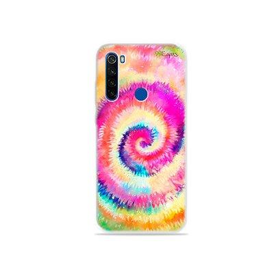 Capinha para Xiaomi Redmi Note 8T - Tie Dye
