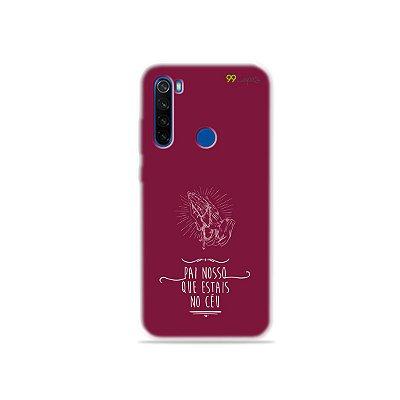 Capinha para Xiaomi Redmi Note 8T - Pai Nosso