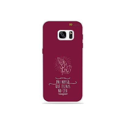 Capinha para Galaxy S7 - Pai Nosso