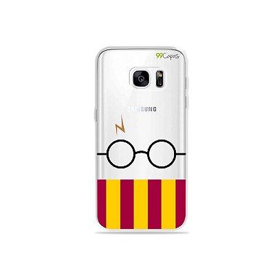 Capinha (transparente) para Galaxy S7 - H.P.