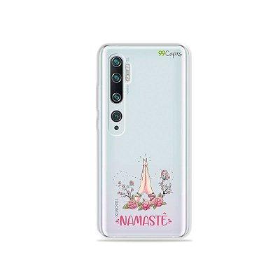 Capinha (transparente) para Xiaomi Mi Note 10 - Namastê