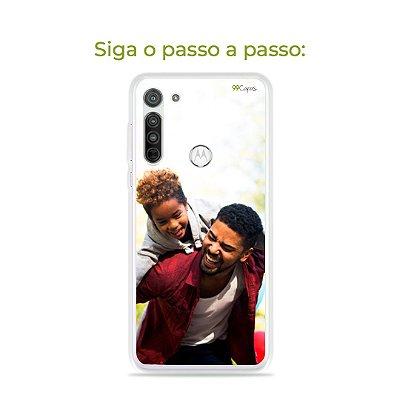 Capinha com foto para Motorola
