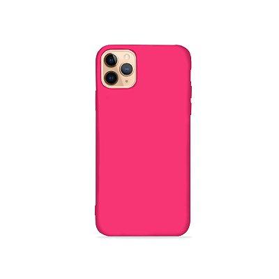 Silicone Case Rosa Pink para iPhone 11Pro (acompanha Pop Socket) - 99Capas