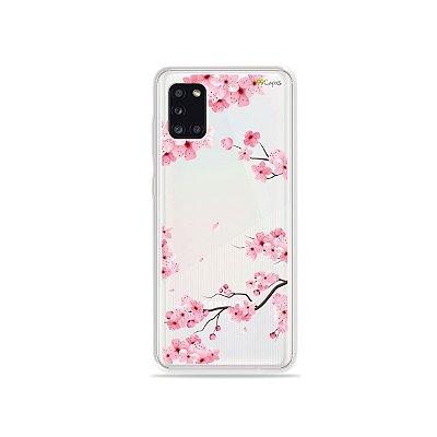 Capinha Cerejeiras para Galaxy A31