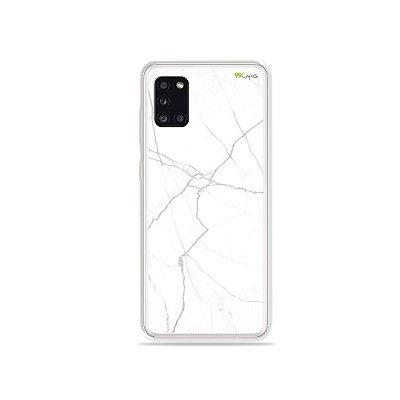 Capinha Marble White para Galaxy A31