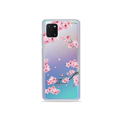 Capinha Cerejeiras para Galaxy Note 10 Lite