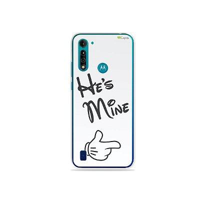 Capa para Moto G8 Power Lite - He's Mine