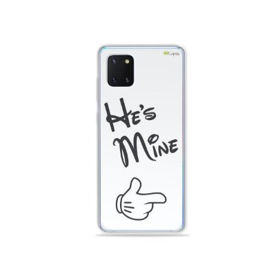 Capinha He's Mine para Galaxy Note 10 Lite