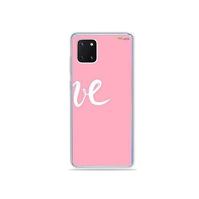Capinha Love 2 para Galaxy Note 10 Lite