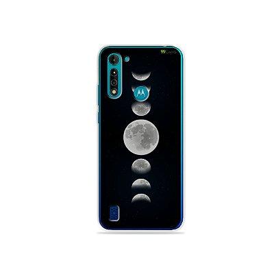 Capa para Moto G8 Power Lite - Fases da Lua