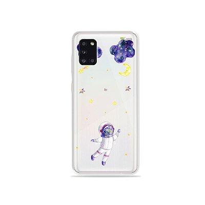 Capa para Galaxy Note 10 Plus - Astronauta Sonhador