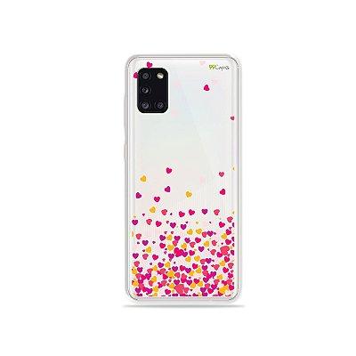 Capa para Galaxy Note 10 Plus - Corações Rosa