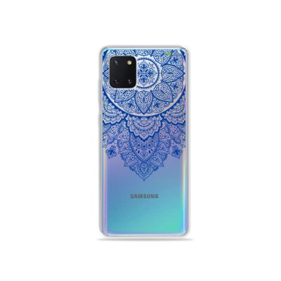 Capinha Mandala Azul para Galaxy Note 10 Lite
