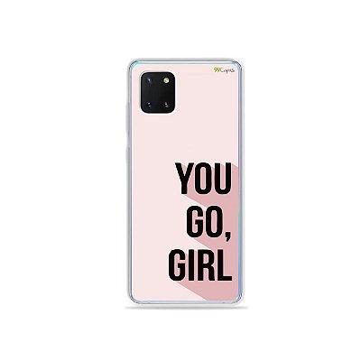 Capinha You Go, Girl para Galaxy Note 10 Lite