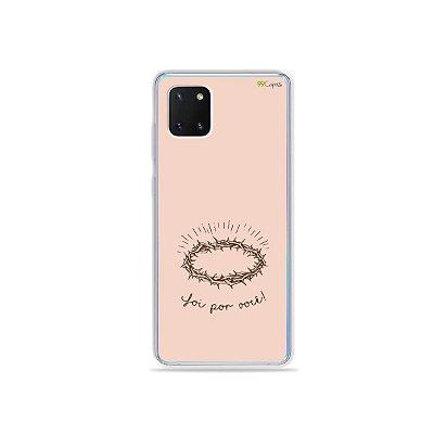 Capinha Foi por você para Galaxy Note 10 Lite