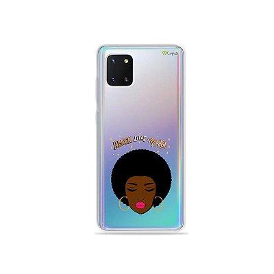 Capinha Black Lives para Galaxy Note 10 Lite