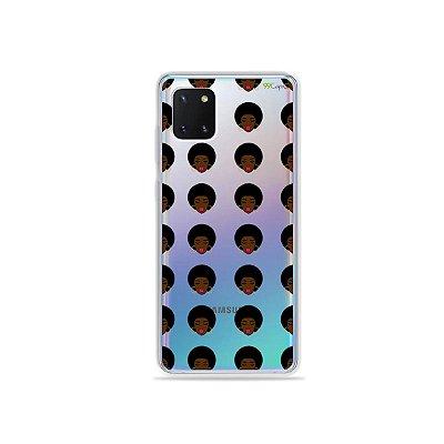 Capinha Black Girl para Galaxy Note 10 Lite