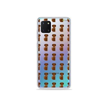 Capinha Labrador para Galaxy Note 10 Lite